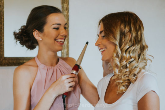Bohemian Style Italian Wedding – Bride and Groom Getting Ready