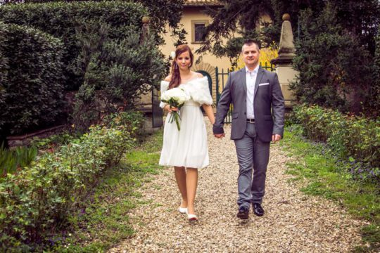 Romantic Elopement in Tuscany