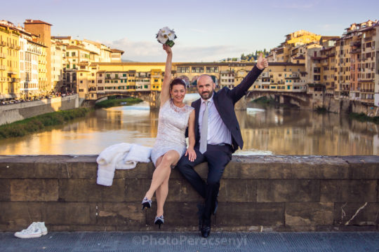 Cool Wedding Photo Session at Florence
