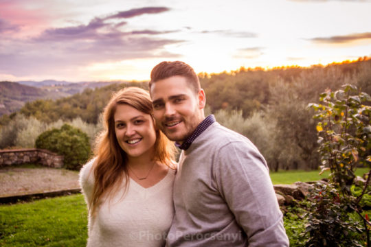Engagement Photo Session in Tuscany