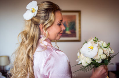 Intimate Italian Wedding – Bride Getting Ready