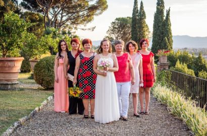 Florence Countryside Summer Wedding
