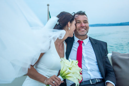 Motor Boat Photo Session at Lake Garda