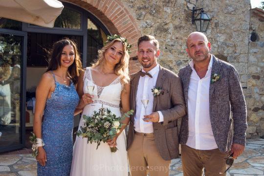 Radda in Chianti Outside Wedding Reception