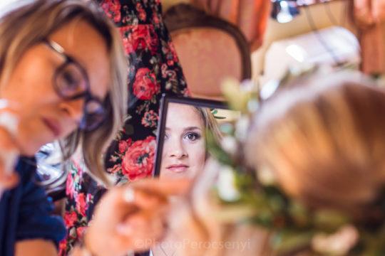 Radda in Chianti Wedding Bride and Groom Getting Ready