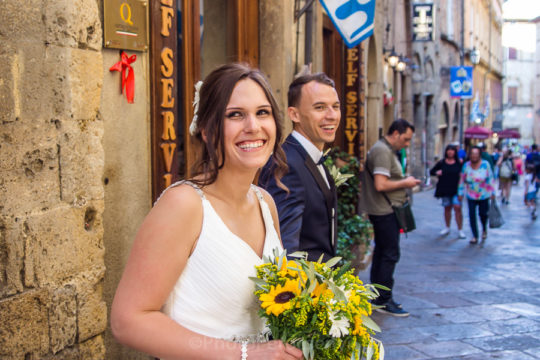 Unique Destination Wedding in Volterra