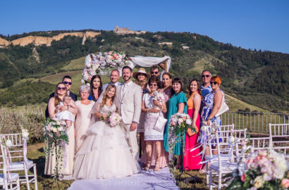 Beautiful Dream Wedding in Italy – Ceremony and Reception