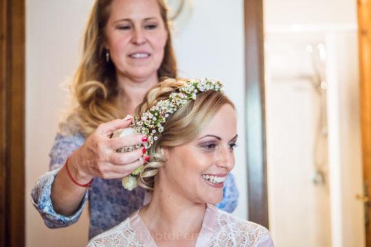 Colorful Modern Wedding Ceremony in Tuscan Villa Otium