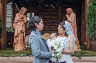 Japanese Wedding Photography in Florence at Christmas