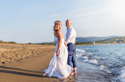 Seaside Beach Wedding for Two in Tuscany