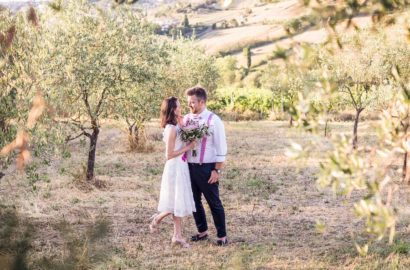 Vineyard Wedding at Agriturismo la Borriana Tuscany