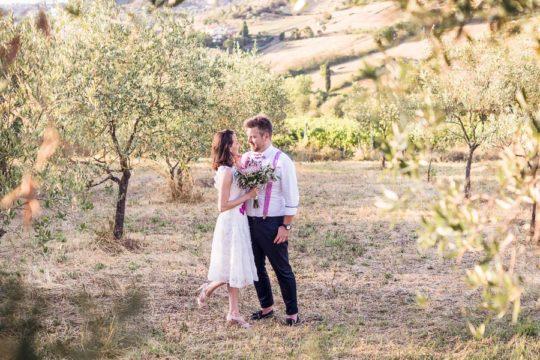 Vineyard Wedding at Agriturismo la Borriana Tuscany