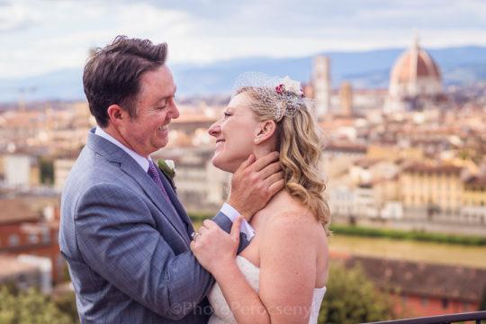Wanderlust Wanderer Wedding through Florence