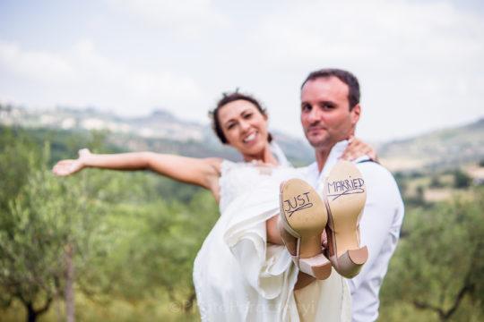Lovely Wedding in Tenuta la Borriana Italy
